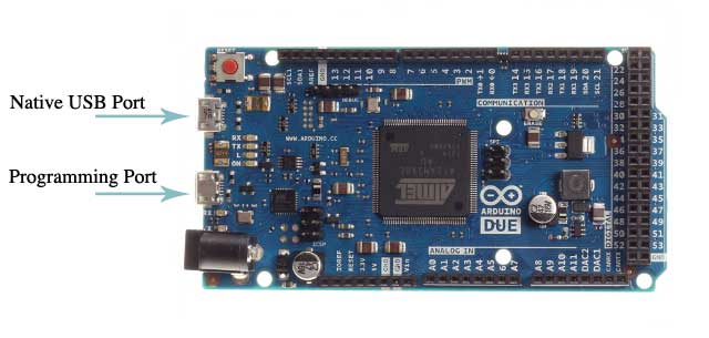 Arduino due bootloader download