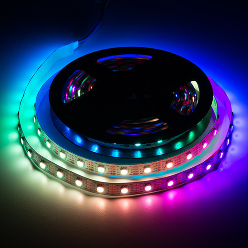 RGB LED 스트립 -주소연산 가능 5m, APA102 (LED RGB Strip - Addressable, 5m ...